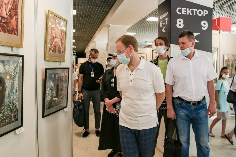 Виктор Томенко. Выставка Фото:Виталий Барабаш
