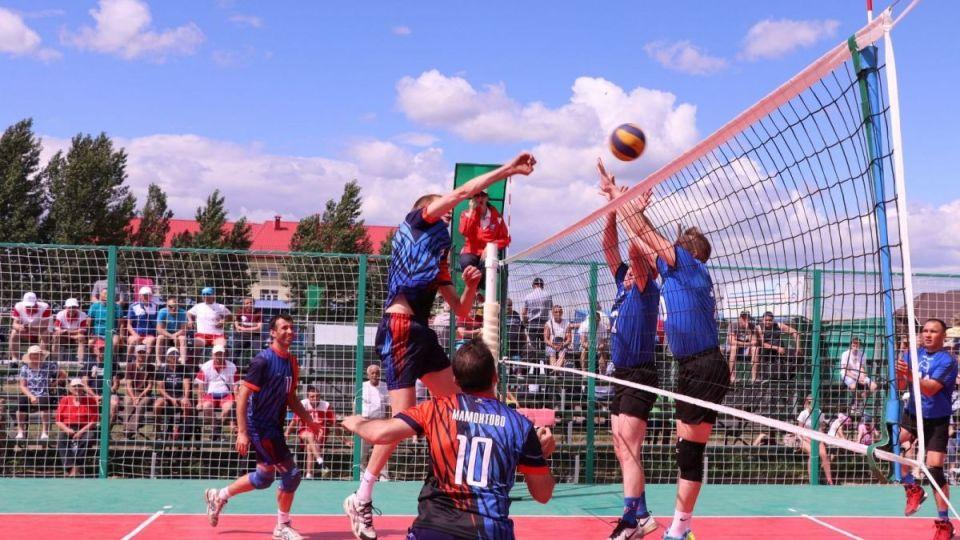 Олимпиада сельских спортсменов Алтая