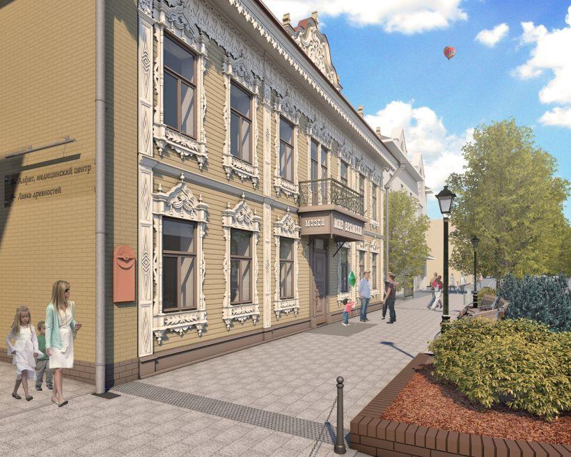 Проект реставрации здания аптеки Крюгера на ул. Пушкина, 64 Фото:Александр Деринг
