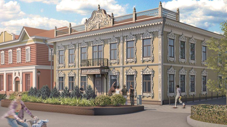 Проект реставрации здания аптеки Крюгера на ул. Пушкина, 64