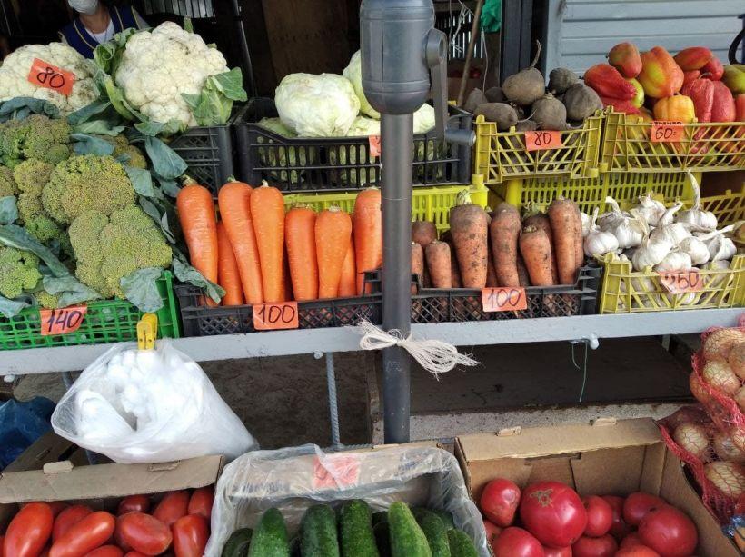 """Цены. Овощи Фото:""""Толк"""""""