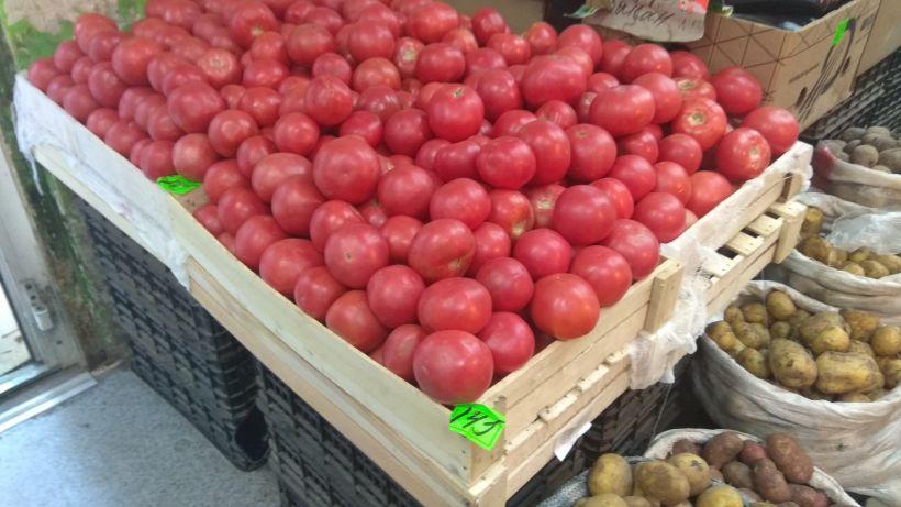 """Овощи на рынке у стадиона """"Динамо"""" Фото:""""Толк"""""""