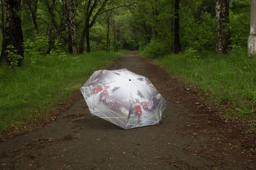 Дождь, зонтик Фото:Анна Меньшикова