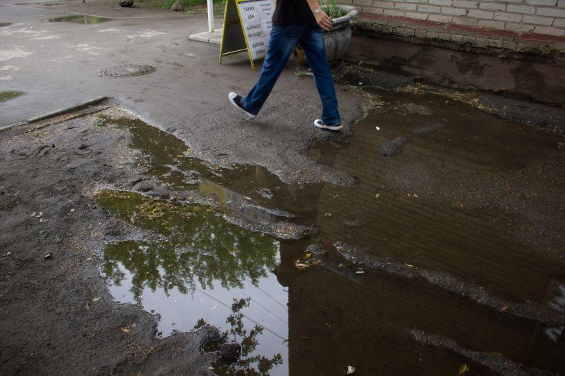 Дождь Фото:Анна Меньшикова
