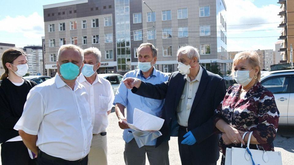 Рабочая группа по установке мемориала медикам края