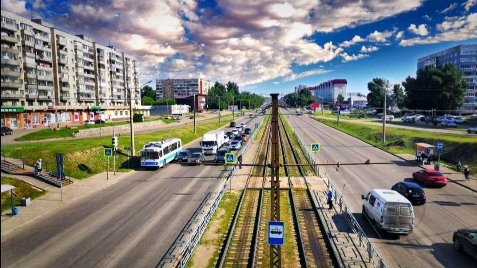 Барнаул. Транспорт