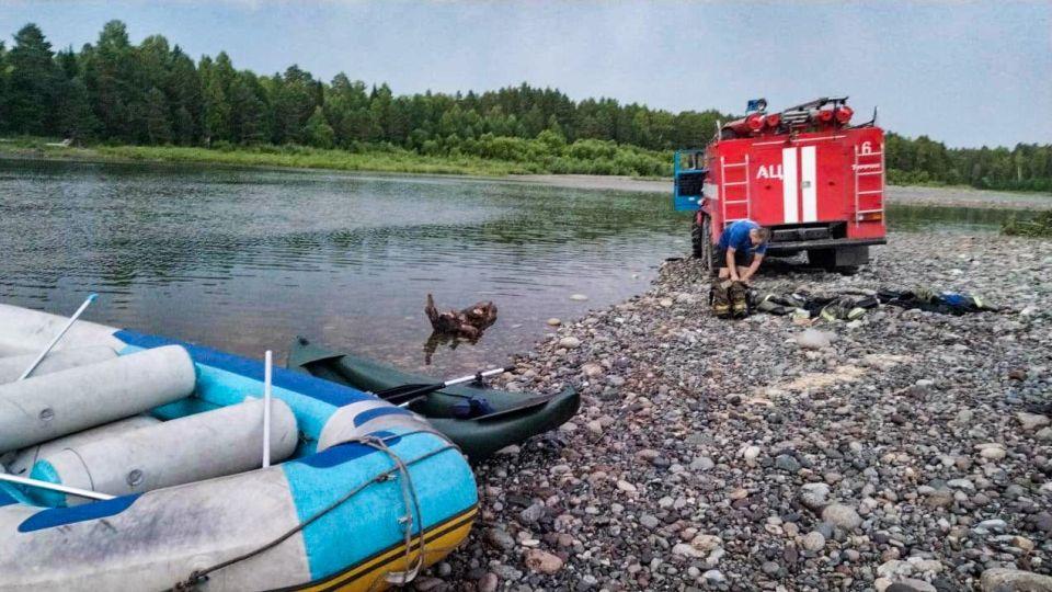 Река Лебедь. Поиски утонувших