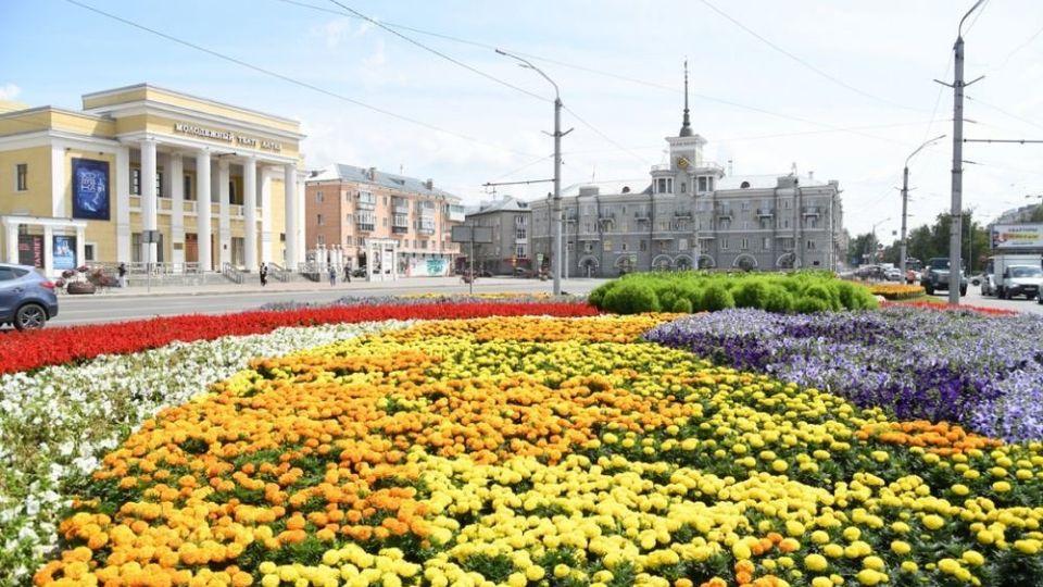 Барнаул. Проспект Ленина. Площадь Октября