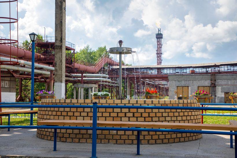 Алтай-Кокс благоустраивает территорию Фото:Пресс-служба Алтай-Кокса