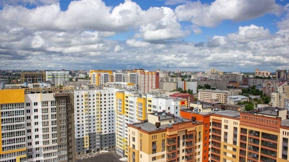 Барнаул. Панорама Центрального района