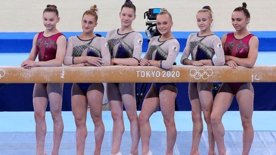 Спортивные гимнастки