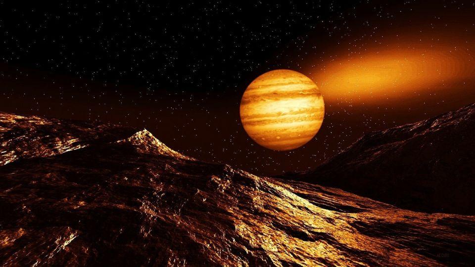 Юпитер. Планета. Космос