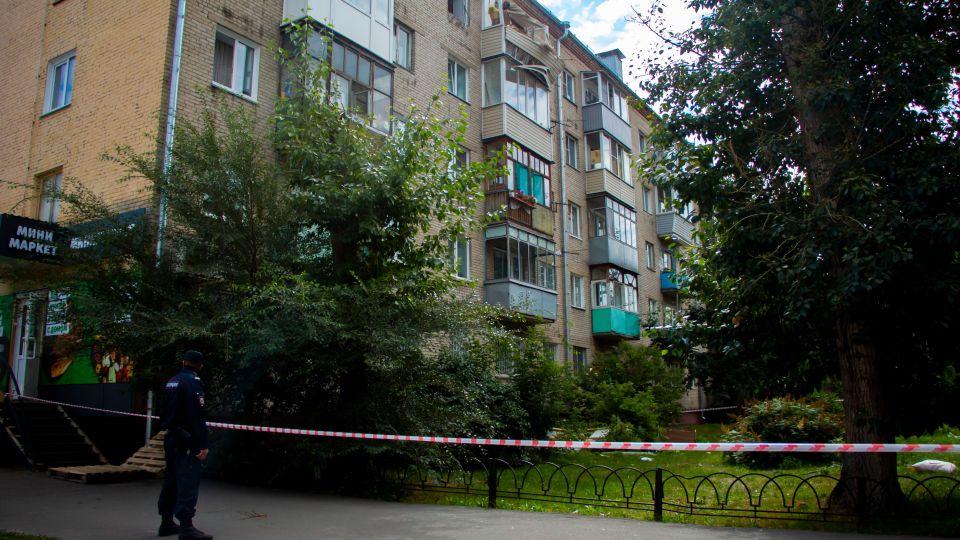 Последствия хлопка газа в Барнауле