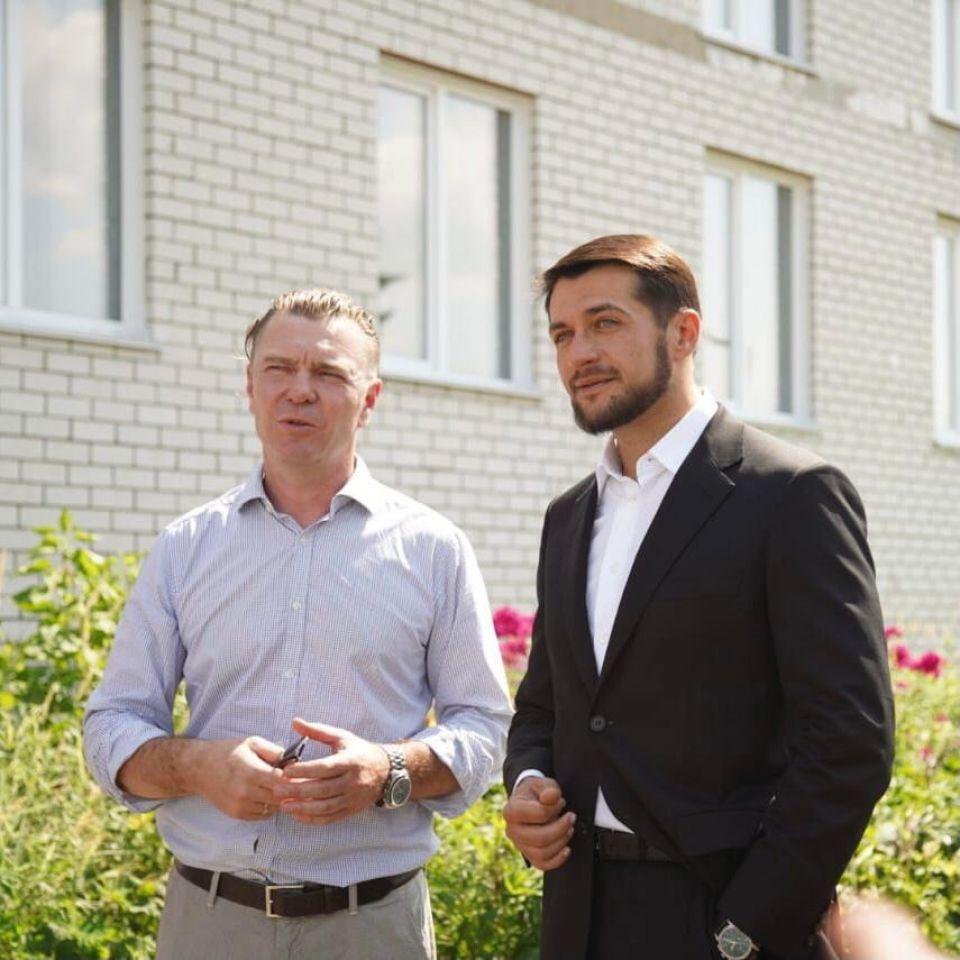 Андрей Лазарев и Александр Прокопьев.