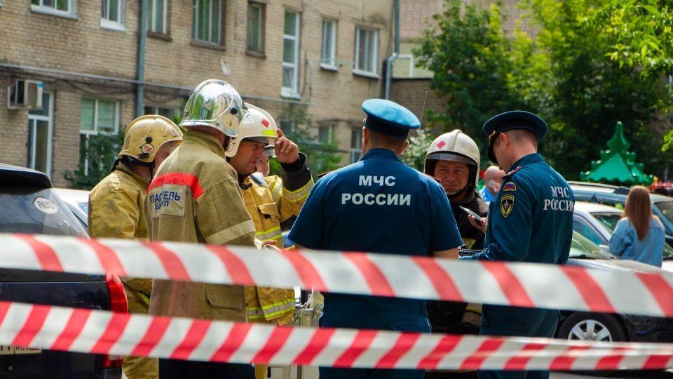 Взрыв газа на ул. Молодежной