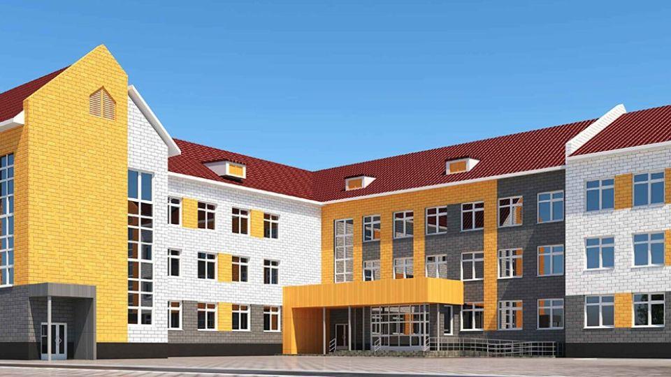Проект школы на ул. Декоративной, 61а в Барнауле
