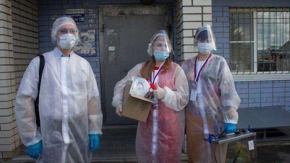 Голосование на дому во время пандемии