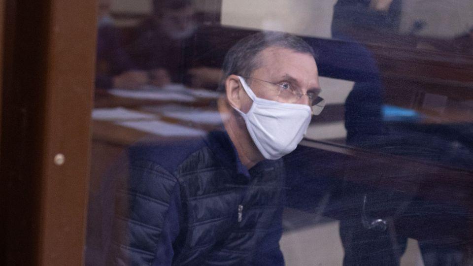 Сергей Дёмин в зале суда