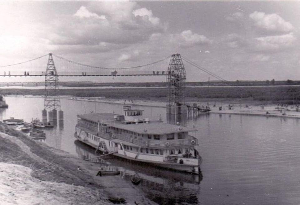 Старый речной порт в Барнауле