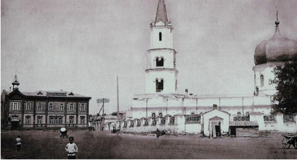 Первый собор в Барнауле