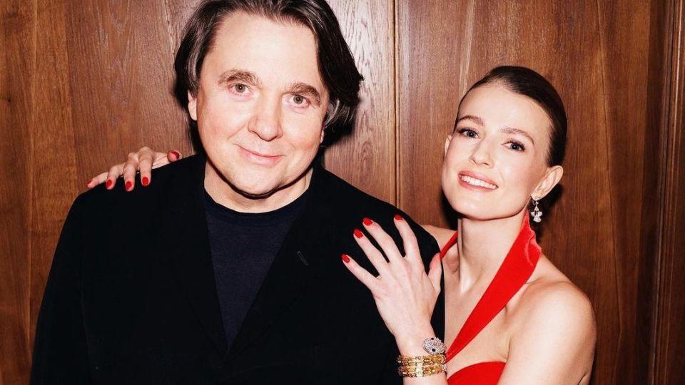 Константин Эрнст с женой