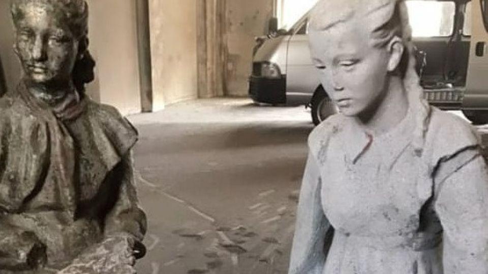Скульптура на реставрации