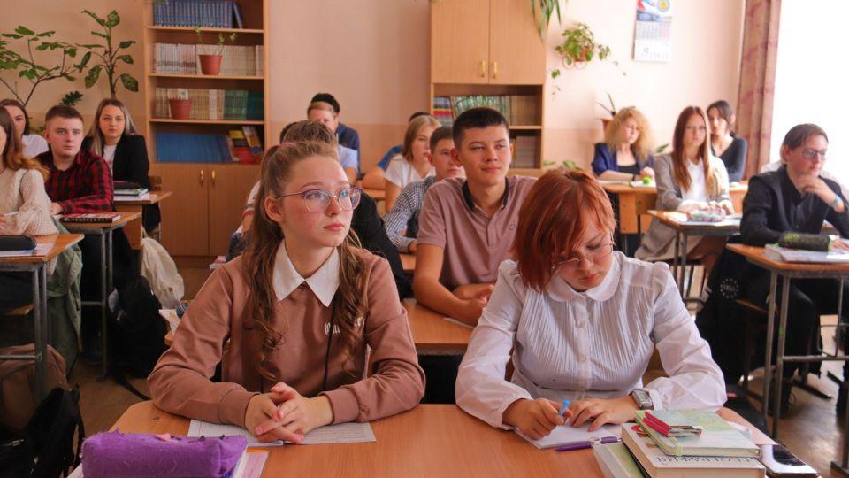 Школьники. Школа. Алтайский край