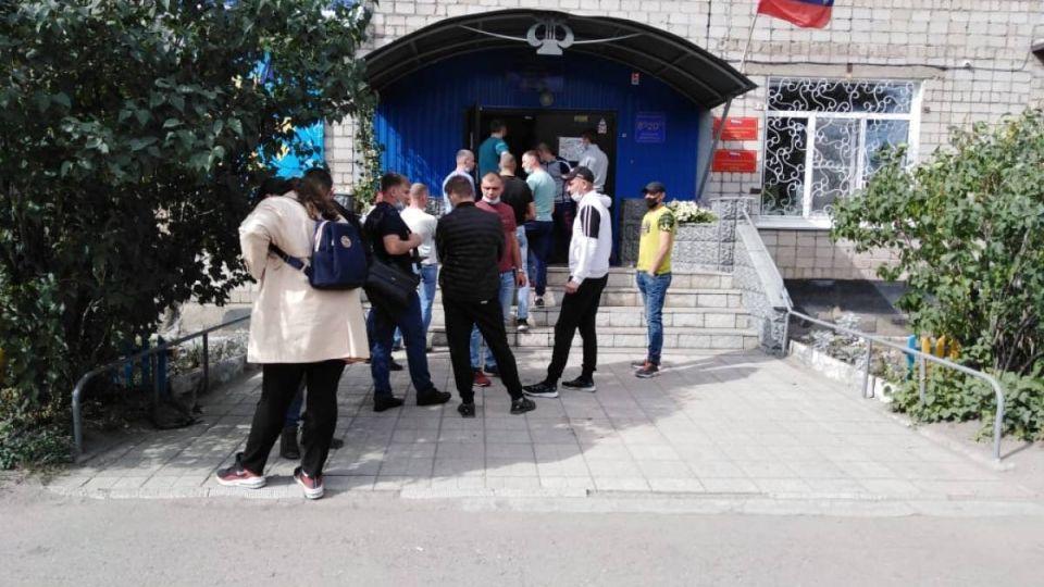 Голосование в Рубцовске