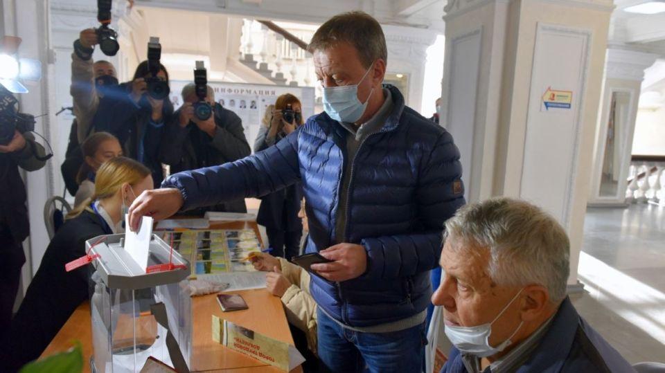 Вячеслав Франк. Выборы 2021. Голосование