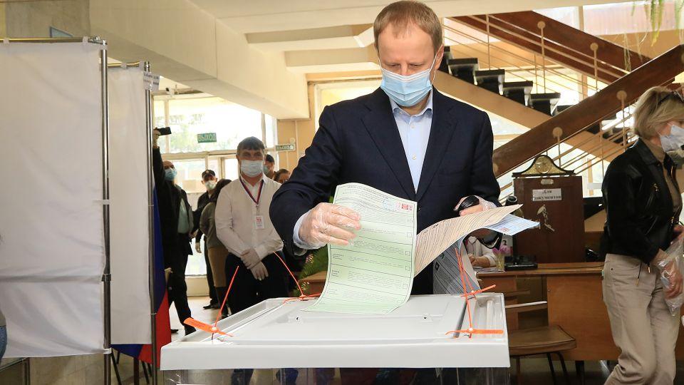 Виктор Томенко на выборах