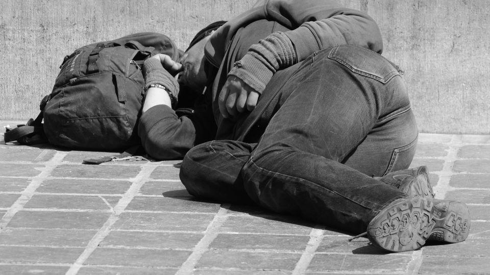 Бездомный. Бомж