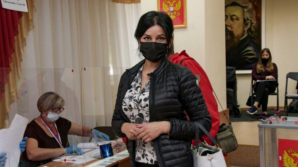 Мария Прусакова на парламентских выборах в Алтайском крае