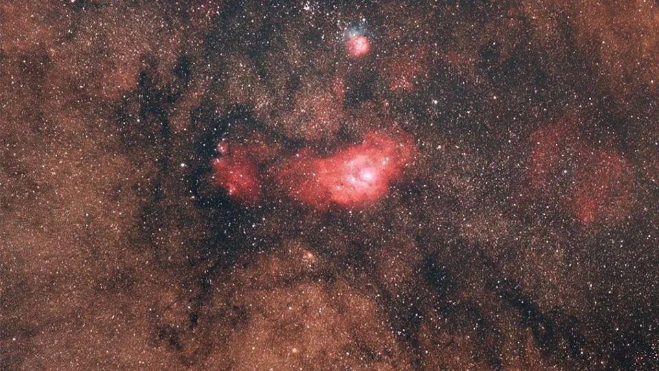 Туманность в созвездии Стрельца
