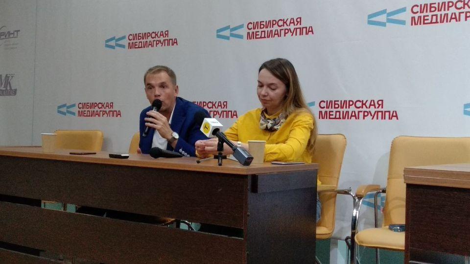 Александр Молотов и Оксана Молодых