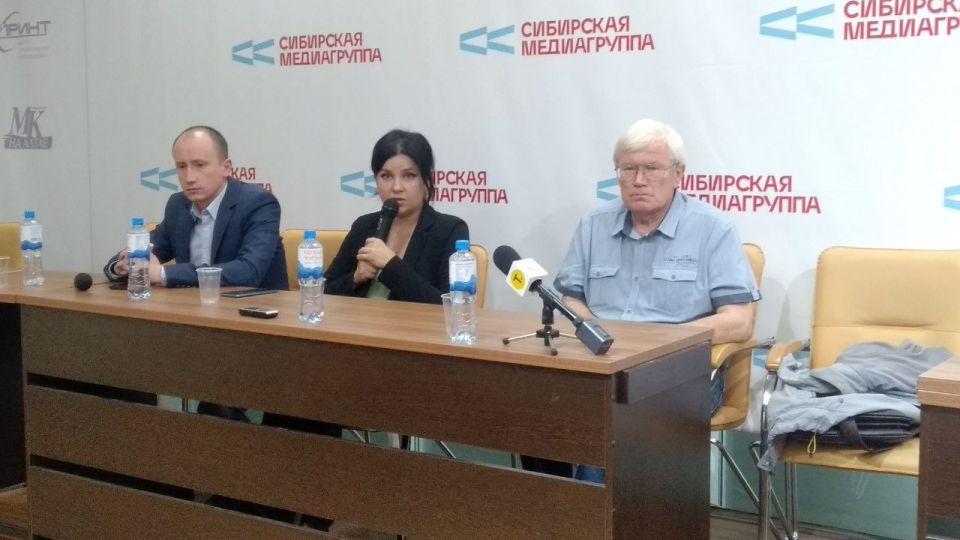 Антон Арцибашев (слева), Мария Прусакова (в центре) и Юрий Кривов