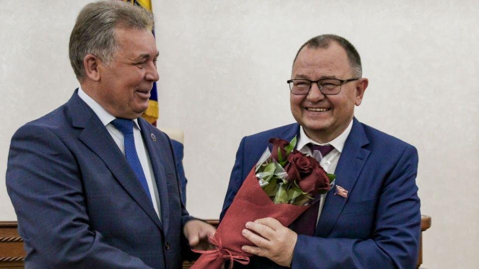 Александр Романенко (слева) и Борис Трофимов