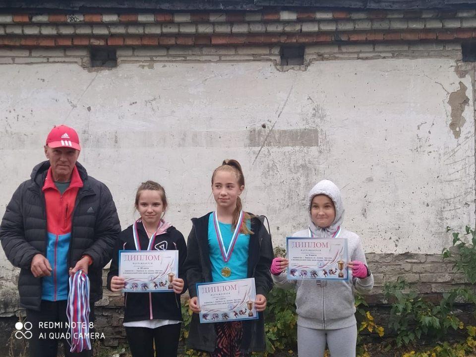 Победители и призеры среди младших девушек