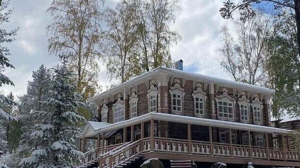 Первый снег в Белокурихе
