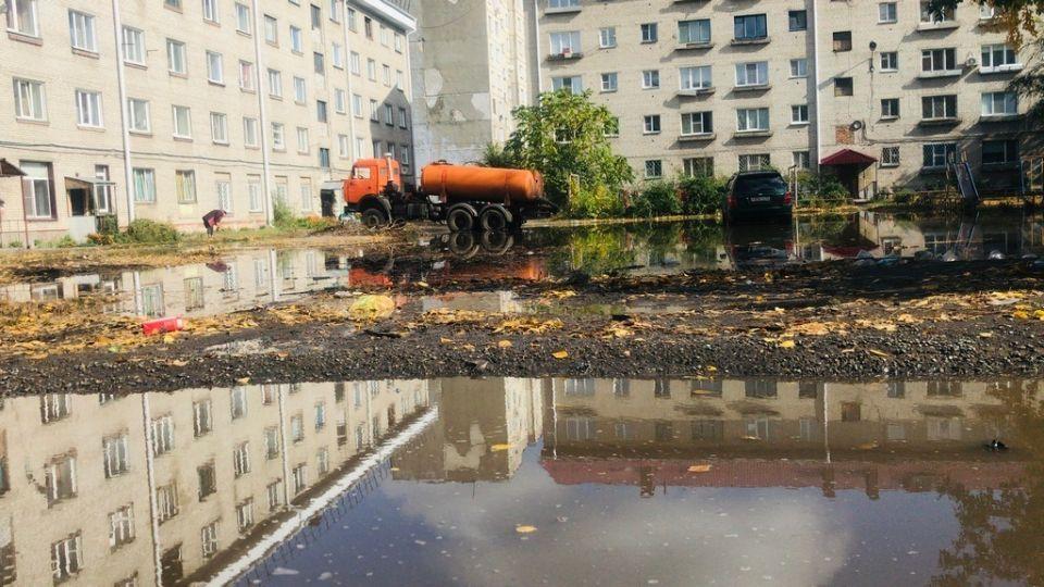 Коммунальная авария в Бийске