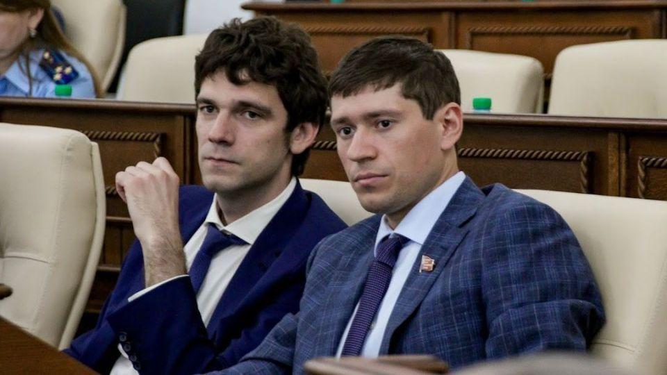 Дмитрий Степурко (слева) и Артем Шамков