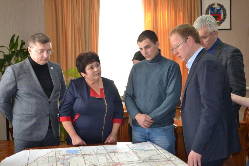 Совещание в администрации Локтевского района Фото:Алексей Кучерявых