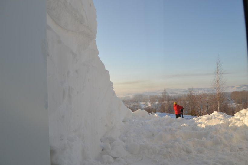 Вид из окна администрации Змеиногорского района Фото:Алексей Кучерявых