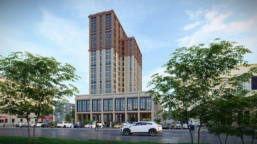 Фото:Предоставил Евгений Ракшин / Рабочие эскизы проекта нового здания на месте ЦУМа
