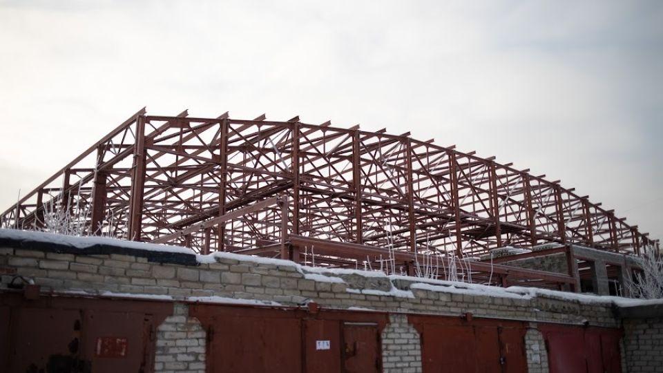 Недострой ледовой арены в Барнауле