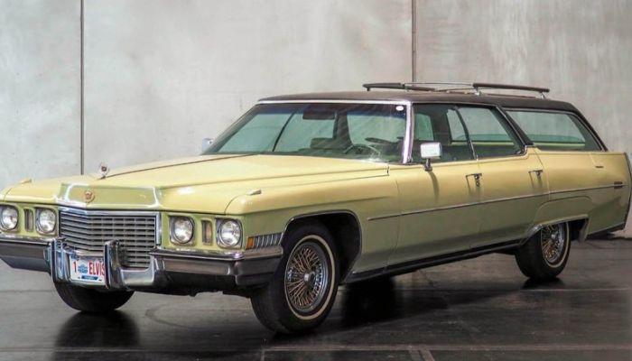 Последний автомобиль Элвиса Пресли продали на аукционе за 69 тыс. евро