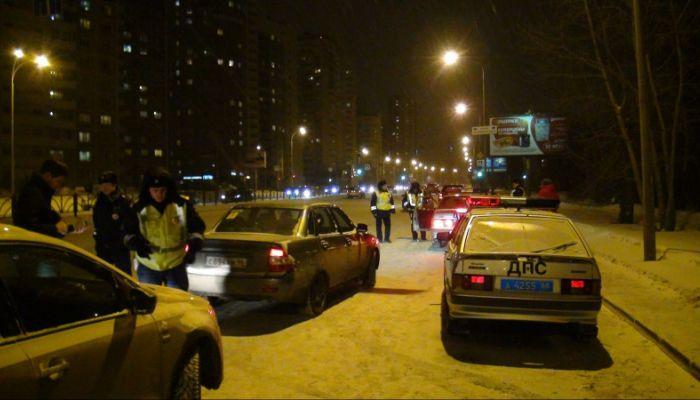 Сотрудники ДПС задержали гонщика в Барнауле