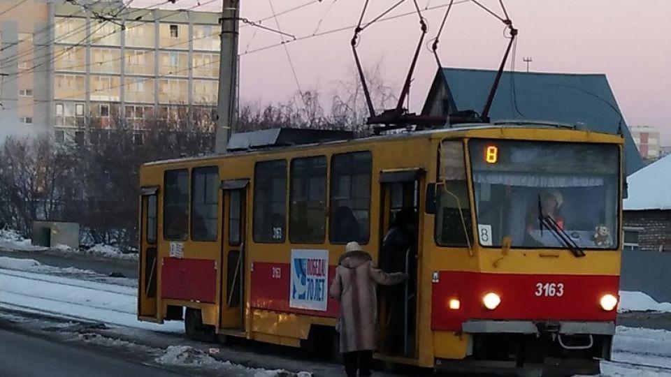 Трамвай. Барнаул