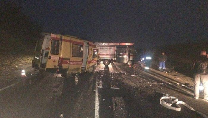 Жертвами ДТП с машиной скорой помощи на Кубани стали шесть человек