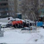 Авария на водопроводе в районе Докучаево произошла в Барнауле 14 декабря