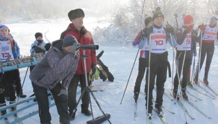 Соревнования по биатлону пройдут на новогодних каникулах на Алтае